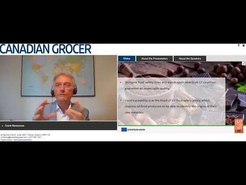 The European Advantage: How to make the most of CETA - Canadian Grocer webinar 10 September 2020