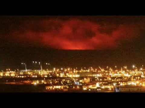 Eruption Is Now Underway At Iceland's Fagradalsfjall Volcano, After Thousands of Recent Earthquakes