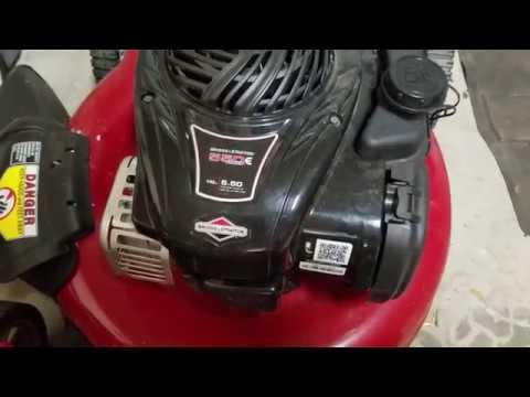 Murray Lawn-Mower won't Start 550 E Series Cheap Easy Fix