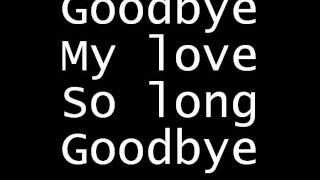 """Video thumbnail of """"Goodbye by My Darkest Days with lyrics"""""""