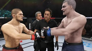 Khabib vs. Grand Fighter (EA Sports UFC 3) ☝️🦅