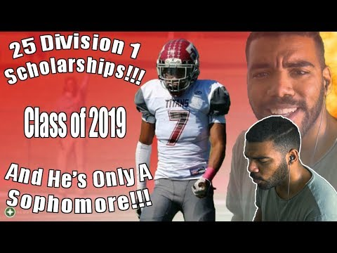 This Kid Has 25 Division 1 Offers... AS A SOPHOMORE!!! Shammond Cooper Highlights [Reaction]