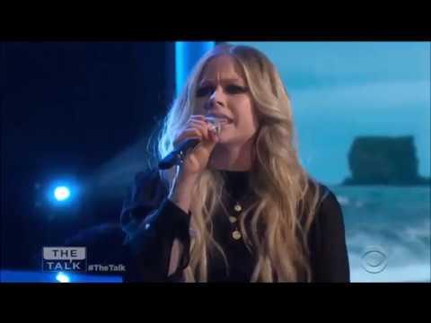 Avril Lavigne-Head Above Water Live | The Talk 2019