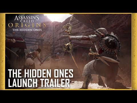 The Hidden Ones DLC - Story Expansion | Launch Trailer de Assassin's Creed : Origins