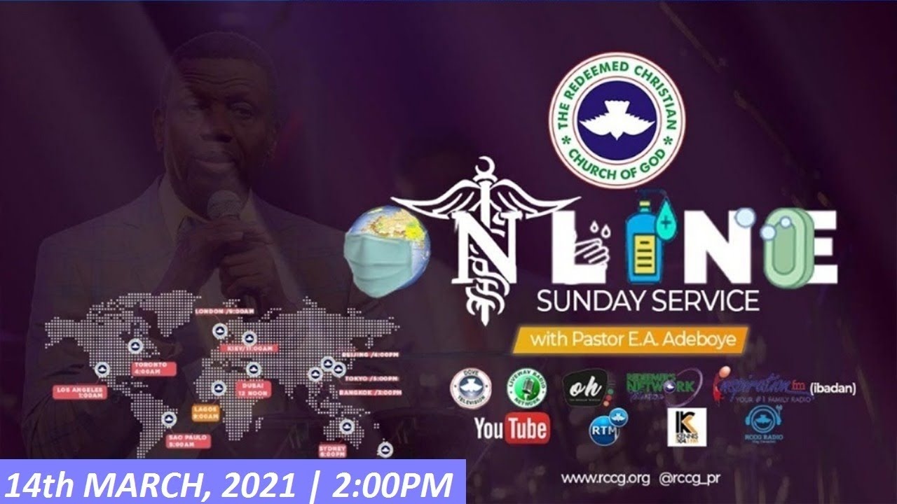 RCCG Sunday Service 14 March 2021 with Pastor E.A Adeboye