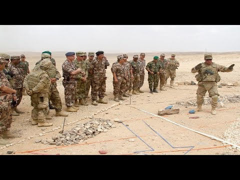 Estados Unidos desplegó tropas en la frontera de Jordania con Siria. ¿Cuál es su plan?