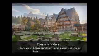 preview picture of video 'Noclegi Zakopane Ośrodek Szkoleniowy Wypoczynkowy WERONIKA Poronin'