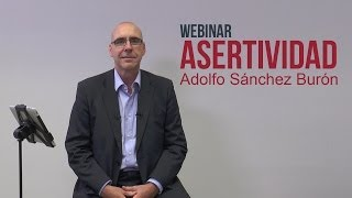 "Webinar ""Asertividad"" - Adolfo Sánchez Burón - LIDlearning"