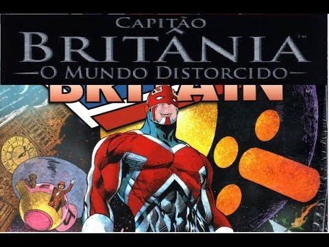 Quadrinhos: Capitão Britania
