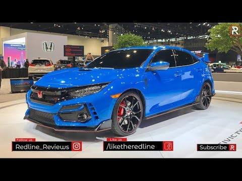 2020 Honda Civic Type R – Redline: First Look – 2020 CAS