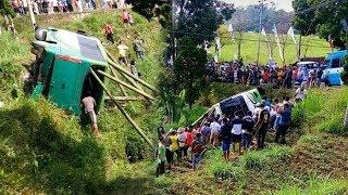 Tak Kuat Menanjak, Bus Berpenumpang Rombongan Anak TK Kecelakaan di Magetan