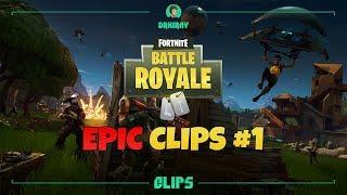 Fortnite Battle Royale - Подборка эпичных клипов #1