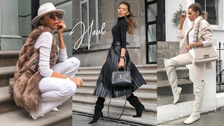 HAUL & TRY ON // NEW- IN OCTOBER 2019 // River Island, New Chic, Asos, Kurt Geiger, Zara, H&M