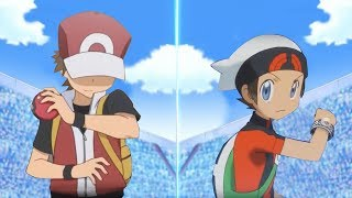Pokémon Ultra Sun and Ultra Moon: Red Vs Brendan (Game Red, Oras Brendan)