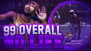 NBA 2K18 99 OVERALL NO LIFES!