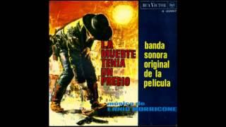 ENNIO MORRICONE - La Muerte Tenía Un Precio - 1965 Spanish EP