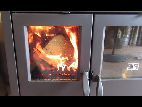 North Wood Cookstove - The First Burn