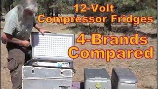 12 Volt Compressor Fridge/Freezers Compared