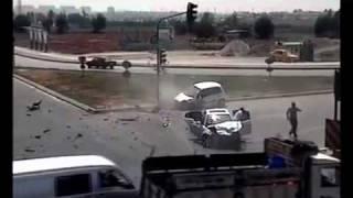 Car Truck Crash Compilation 2011.mp4