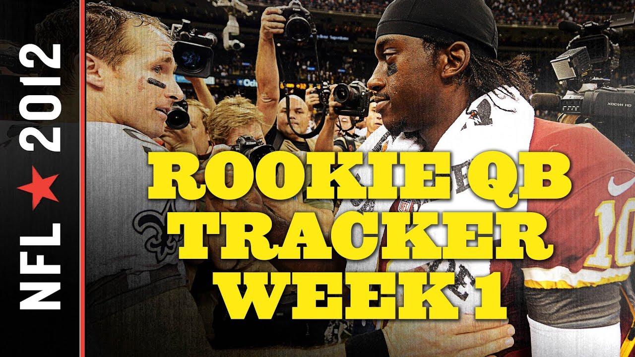 NFL Week 1 Scores: RG3 Outclasses Record-Setting Five Rookies Starting in Week 1 thumbnail