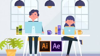 4 Beginner Cartoon Animation Techniques in After Effects