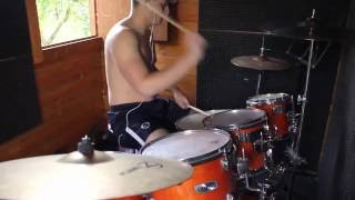 Red Hot Chili Peppers - Can't Stop - Drum Cover
