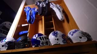 DUKE FOOTBALL :: Gameday Equipment