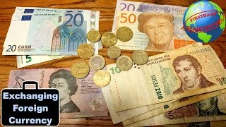 Getting foreign money when traveling | How to exchange foreign currency