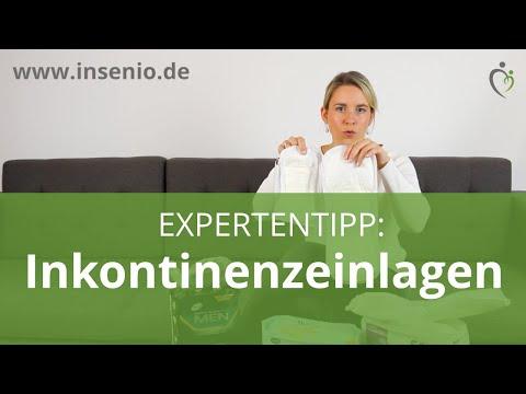 Inkontinenzeinlagen - Anwendungstipps von INSENIO