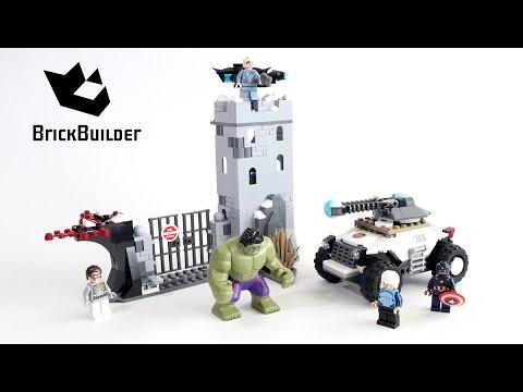 Vidéo LEGO Marvel Super Heroes 76041 : L'attaque de la forteresse d'Hydra