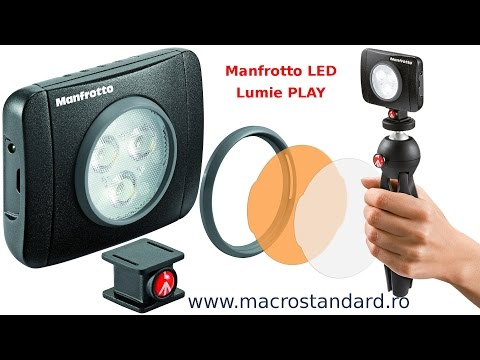 Lampa Manfrotto LED Lumie PLAY
