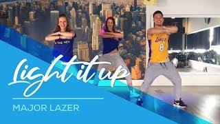 Light it up - Major Lazer - Easy Dance Fitness Choreography by Saskia's Dansschool