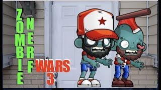 Zombie Nerf Wars 3
