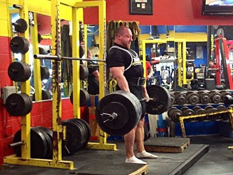 @ SC Barbell 725lb block pull and more