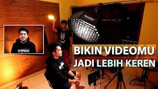 Tutorial Dasar Lighting / Pencahayaan Pada Video | Biar Konten Makin Cakep !!