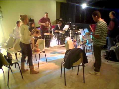Laboratorio di Pandeiro shekere agogò e ritmi Afro-Brasiliani.mov