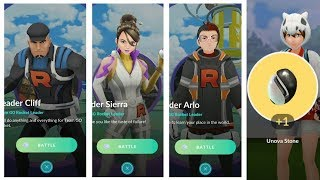 Who is the toughest leader of team go rocket? Fighting Cliff, Sierra and Arlo!