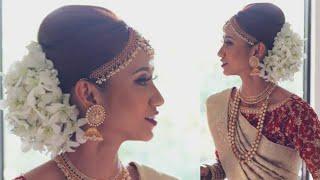BRIDAL BUN | How To Set Maang Tikka | Indian Hairstyle | Hairstyle Tutorial | Indian Bride Hairstyle