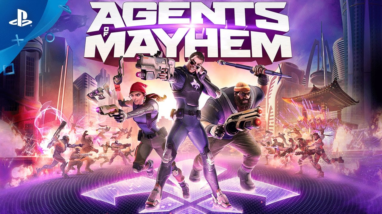 Agents of Mayhem Wreaks Havoc on PS4 this August