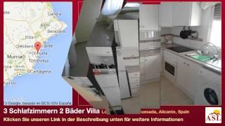 preview picture of video '3 Schlafzimmern 2 Bäder Villa zu verkaufen in Lo Pepin, Ciudad Quesada, Alicante, Spain'
