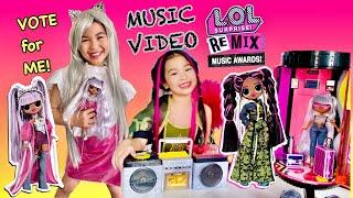 LOL Surprise Remix Music Awards ! Vote for Me ⬇️ L.O.L Surprise Crew Remix Music Video 🎶
