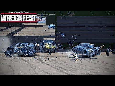 Wreckfest - Episode 39 - Getting Wrecked (Multiplayer)