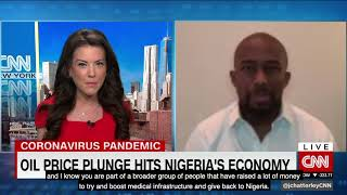 Ainojie 'Alex' Irune on CNN's 'First Move' With Julia Chatterley