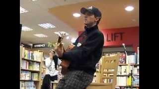 Jason Mraz Unplugged I'll Do Anything Live London Bookstore