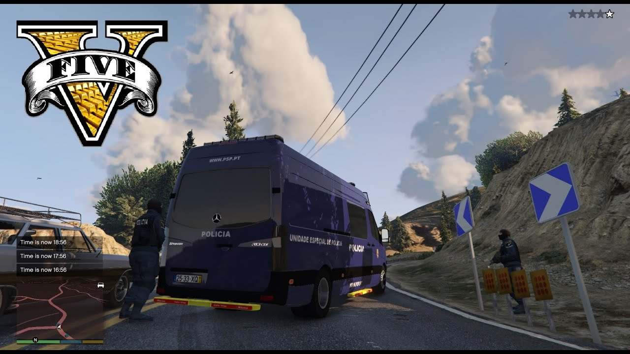 Uep Psp Policia Portugal Gta5 Mods Com