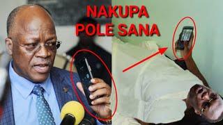 Punde Magufuli ampigia Cm Mbowe kumpa pole kwa CORON'A baada ya kuekwa Carantin!