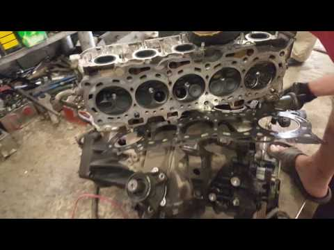 Разборка двигателя G25A