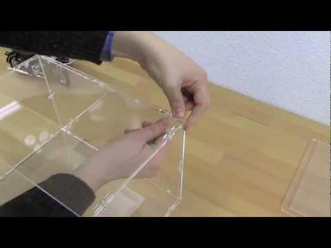Aufbauanleitung Acrylhaube