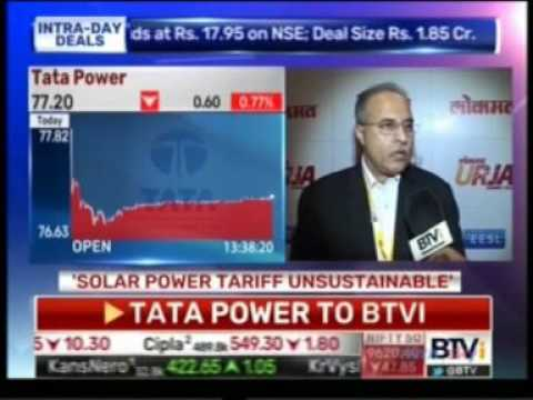 Mr.Anil Sardana, CEO & MD,Tata Power interaction with BTVi