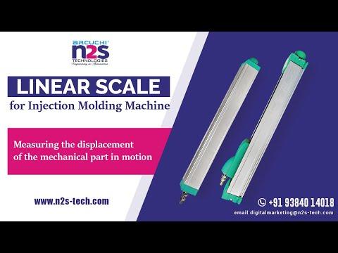 Arcuchi Slide Type Linear Scale 125mm
